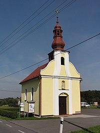 CZE Horní Bludovice kaple Svatého Jana Nepomuckého (1930).jpg
