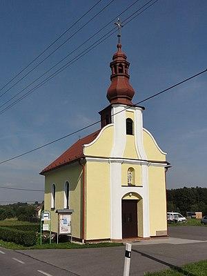 Horní Bludovice - St. John of Nepomuk chapel