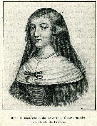 Louise de Prie de La Mothe-Houdancourt - Mme la maréchale de Lamothe (Cabanès, Éducation de Princes)