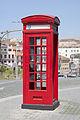 Cabina telefónica frente a la Catedral de Oporto, Portugal, 2012-05-09, DD 01.JPG