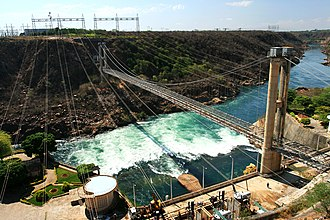 Renewable energy in Brazil - Paulo Afonso Hydroelectric Powerplant in the State of Bahia.