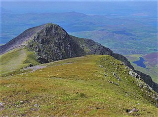 Caher West Top Mountain in Kerry, Ireland