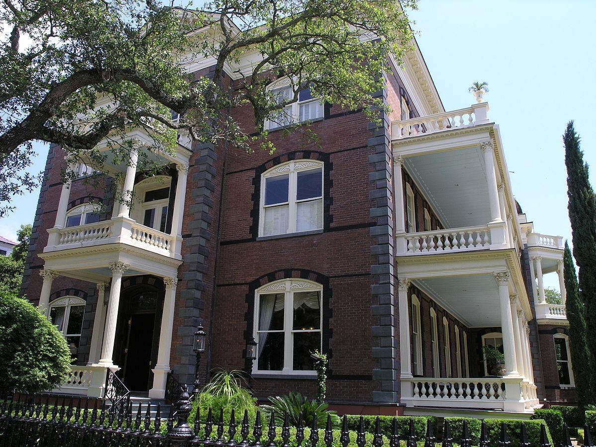 Calhoun mansion wikipedia for Carolina house
