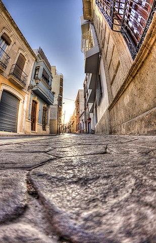 Almedina Street, Almería historical center