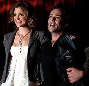 James Callis & Tricia Helfer, 2007