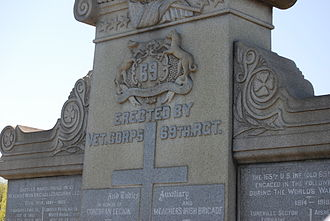 Calvary Cemetery (Queens, New York) - 69th Regiment monument