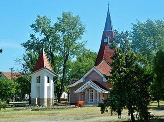 Cserkeszőlő - Calvinist church Cserkeszőlő 3
