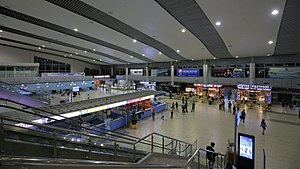 Cam Ranh International Airport - Main hall of the airport