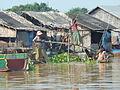 Cambodia - Tonle Sap - 001 Village Scene (8584675656).jpg