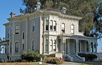 Oakland Museum of California - The Oakland Public Museum was housed in the Camron-Stanford House from 1910-1967.  The Camron-Stanford House is now a separate museum.