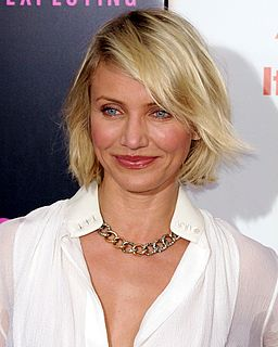 Cameron Diaz American actress