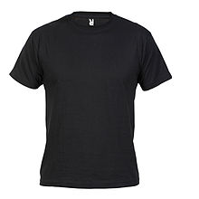 b984806781 Camiseta lisa de color negro