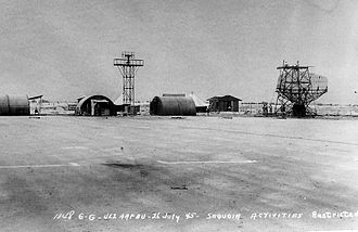 Sequoia Field Airport - Camp Sequoia - CPS-1 Radar and training buildings, 1945