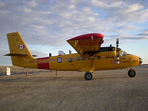 440 Transport Squadron - A 440 Squadron Twin Otter in Cambridge Bay