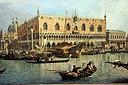 Каналетто, il molo visto dal bacino di san marco, 1730 ок.  04.JPG
