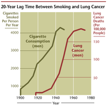 Cancer smoking lung cancer correlation from NIH.png