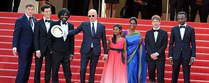 Dheepan - Director and stars at the 2015 Cannes Film Festival.