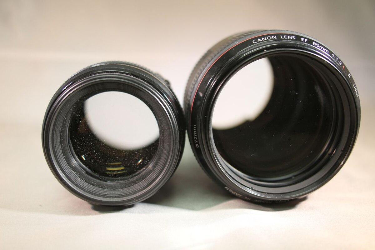 Canon EF 85mm lens - Wikipedia