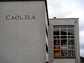 Caol ila whiskey distillery islay scotland 06/16/2007.JPG