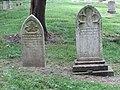 Captain Joseph Burr and Mrs. Sarah P. Burr headstones.jpg