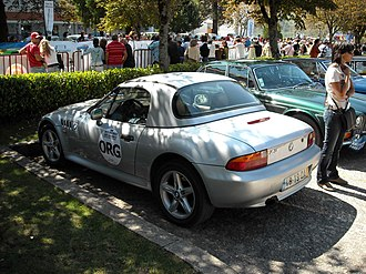 BMW Z3 - Z3 Roadster with the optional hardtop roof