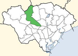 Whitchurch & Tongwynlais Electoral ward in Wales