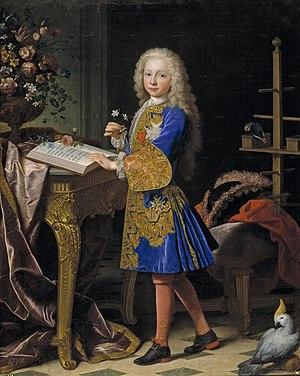 Philippine Élisabeth d'Orléans - Infante Charles, Jean Ranc, 1724.