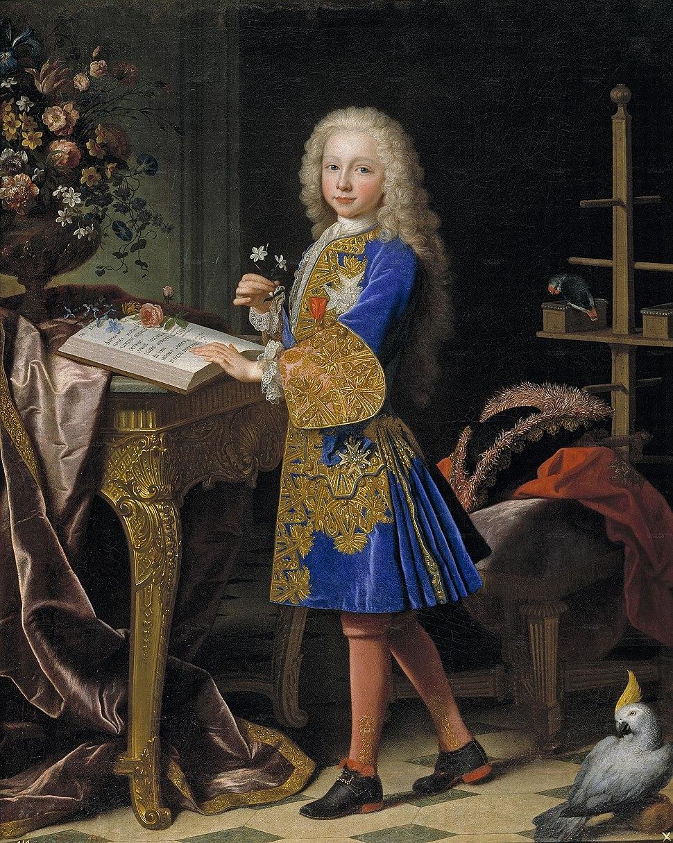 Carlos III, niño