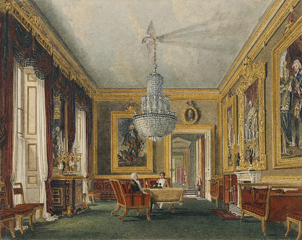 Carlton House, West Ante-Room, by Charles Wild, 1819 - royal coll 922175 313729 ORI 1.jpg