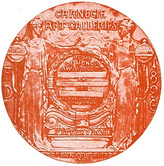 Carnegie Prize - Carnegie Gold Medal of Honor (1896)