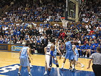 Carolina-Duke basketball 2006 1.jpg