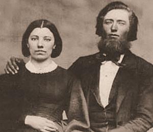 Laura Ingalls Wilder - Caroline and Charles Ingalls