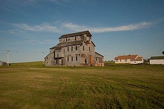 Grant County, North Dakota - Image: Carson Roller Mill