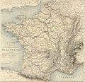 Carte de la navigation intérieure de la France annexé au Rapport au roi (1820).jpg