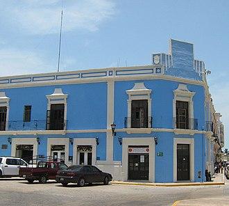 Justo Sierra - Natal house in San Francisco de Campeche.