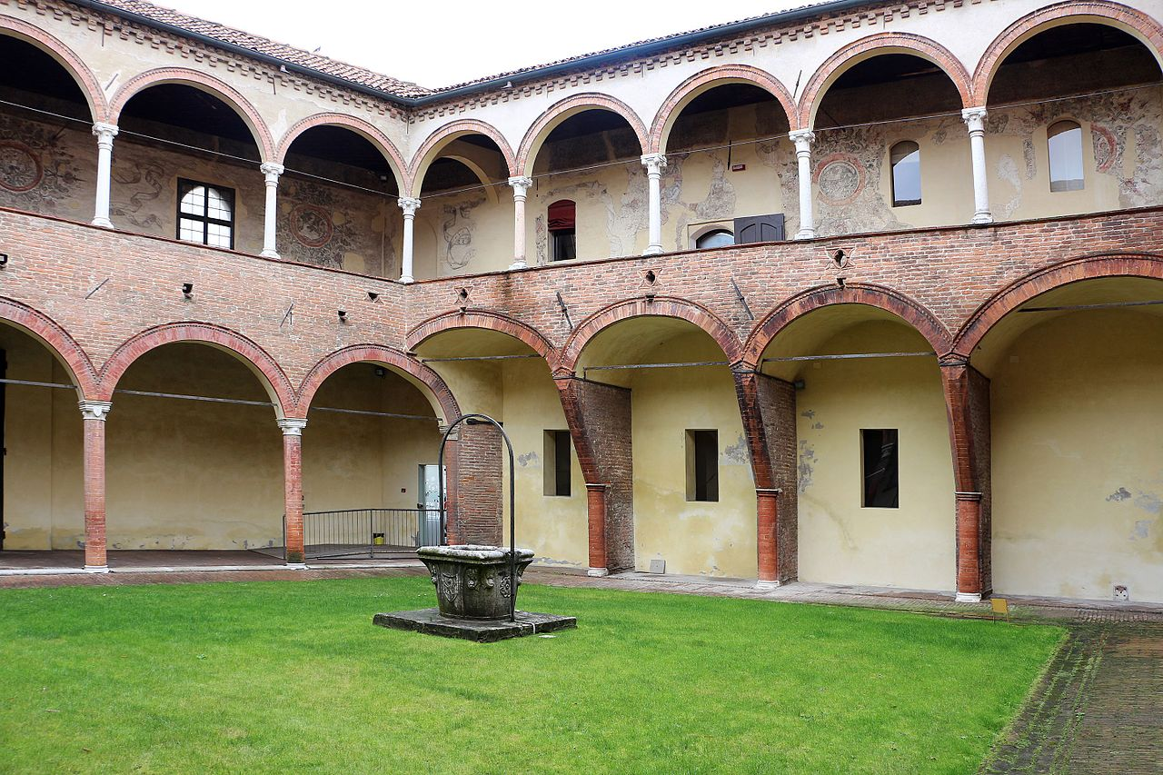 File casa romei cortile 05 jpg wikipedia for Piani casa del cortile