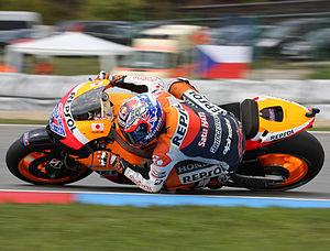 Masaryk Circuit - Casey Stoner at MotoGP Brno