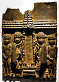 Cast brass plaque from Benin City BM 1898 1-15 46.jpg