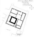 Castello de l'archet, morgex, pianta attuale, 1936, fig 237, disegno nigra.tiff