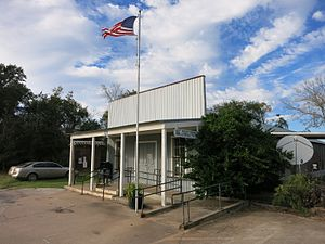 Cat Spring, Texas - Image: Cat Spring TX Post Office