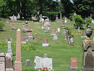 Cataraqui Cemetery Historic cemetery in Frontenac County, Ontario, Canada