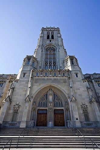 Scottish Rite Cathedral (Indianapolis) - Image: Catedral de tradición escocesa, Indianápolis, Estados Unidos, 2012 10 22, DD 01