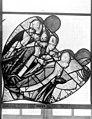 Cathédrale - Vitrail, Chapelle Saint-Joseph, Vie de saint Romain, tympan gauche - Rouen - Médiathèque de l'architecture et du patrimoine - APMH00031324.jpg