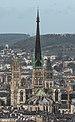 Cathédrale Notre-Dame de Rouen, South-West View from Mont Gargan 140215 4.jpg