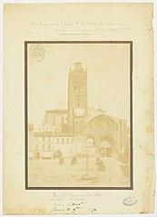 Photographie de la façade principale de la cathédrale de Toulouse