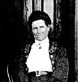 Catherine Adamson on the verandah of Volis Station homestead, Whataroa (cropped) (cropped).jpg