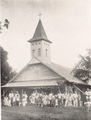 Catholic Church in Tonowas island, Truck (from a book published in 1932).png