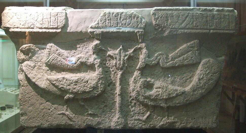 Caucasian albanian stone azerbaijan mingechaur2