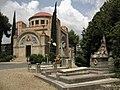 Cementiri de Terrassa, al fons la capella (II).jpg