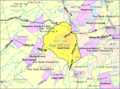 Census Bureau map of Mount Olive Township, New Jersey.png
